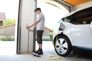 electric car charging point installer