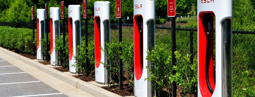 electric car charging points for business